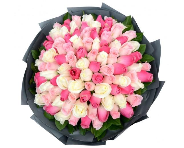 купить 101 розу уфа